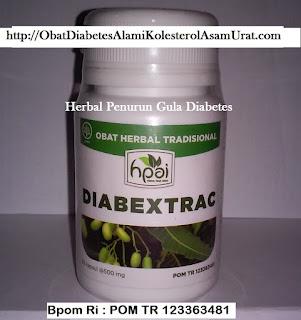 Jual Khasiat DIABEXTRAC hpai obat herbal DIABETES MELLITUS