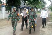 PPKM Darurat, Koramil 0201/Serang Bersama Unsur Muspika Salurkan Bantuan Kepada Masyarakat