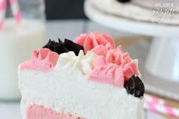 Neapolitan Millionaire Cake