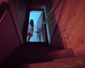 Sophie Stevens en camisón