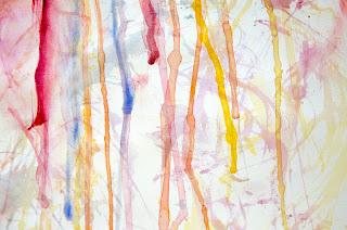 watercolor, art, contemporary art, rainbow, painting, contemporary painter, Rita Keri, artist