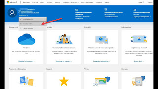 Abbonamenti account Microsoft