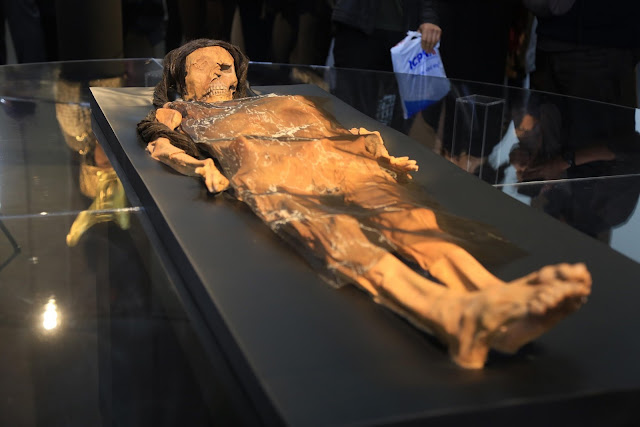 Face of mummified, tattooed Peruvian high priestess who died 1,700 years ago recreated