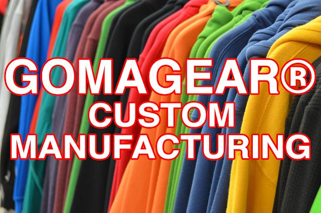 GOMAGEAR Custom Manufacturing