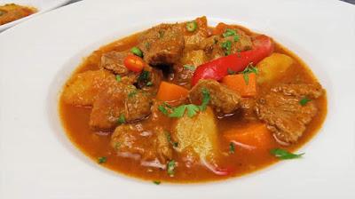 Ideja za Ručak - Teletina s Povrćem (u jednom loncu)   Lunch Ideas - Veal with Vegetables Recipe
