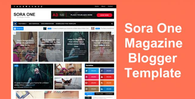 Sora One Blogger Themes
