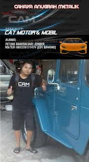 Edy Bawono  Desa Petung Spesialis Cat Motor/Mobil Bergaransi