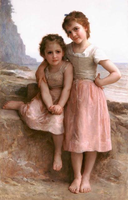 Адольф Вильям Бугро - На скалистом берегу (1896)