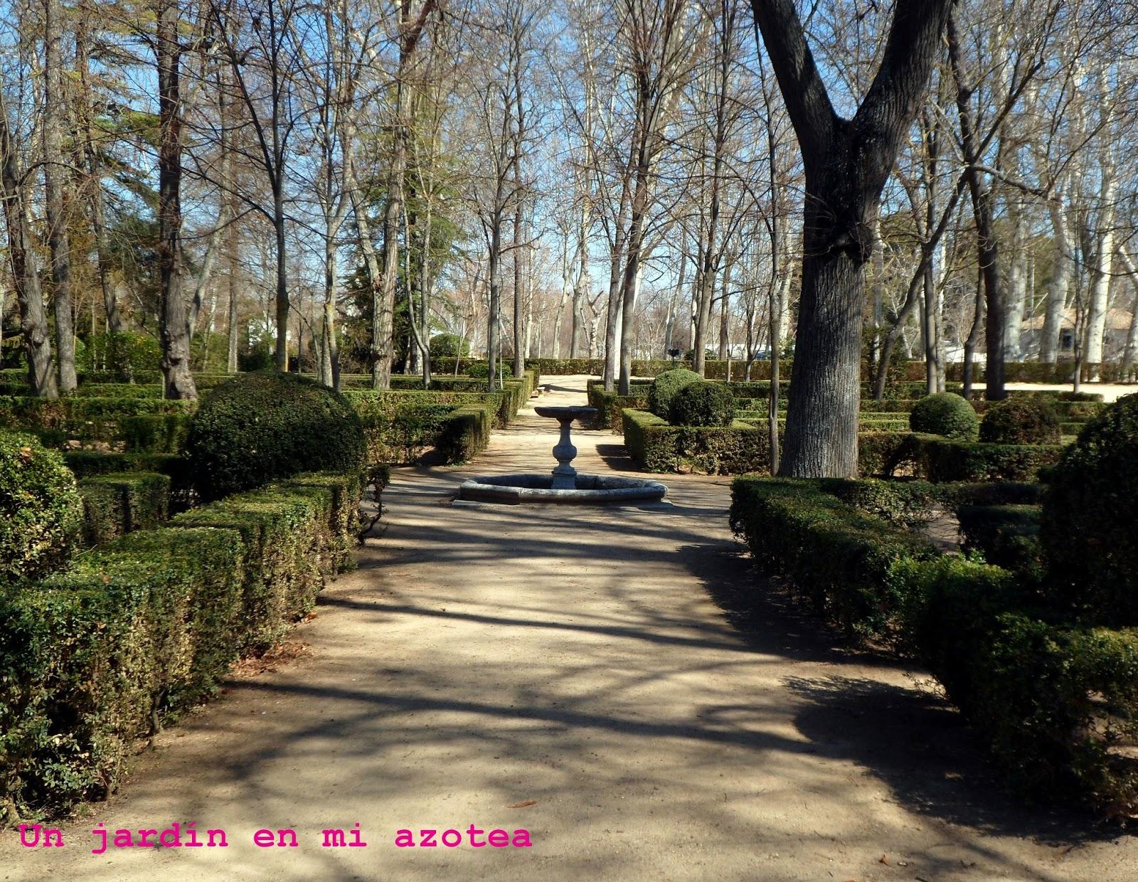 Un jard n en mi azotea el jard n de la isla de aranjuez for Jardines 7 islas