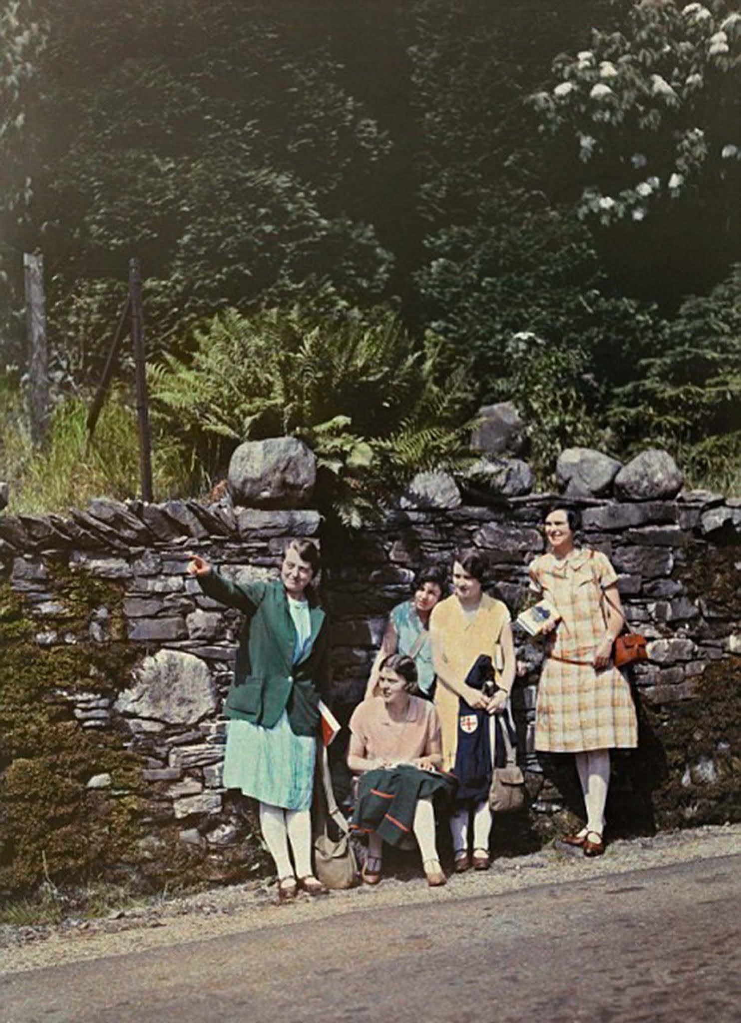 old color photos england