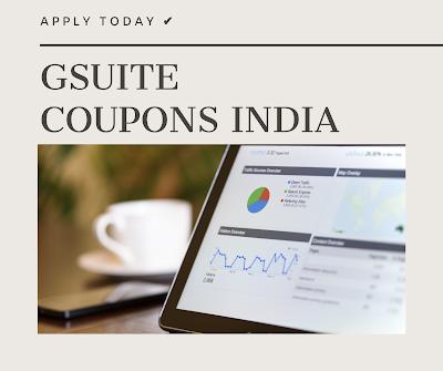 g suite promo code India