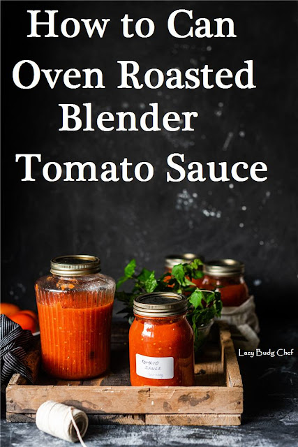 how to can blender tomato sauce