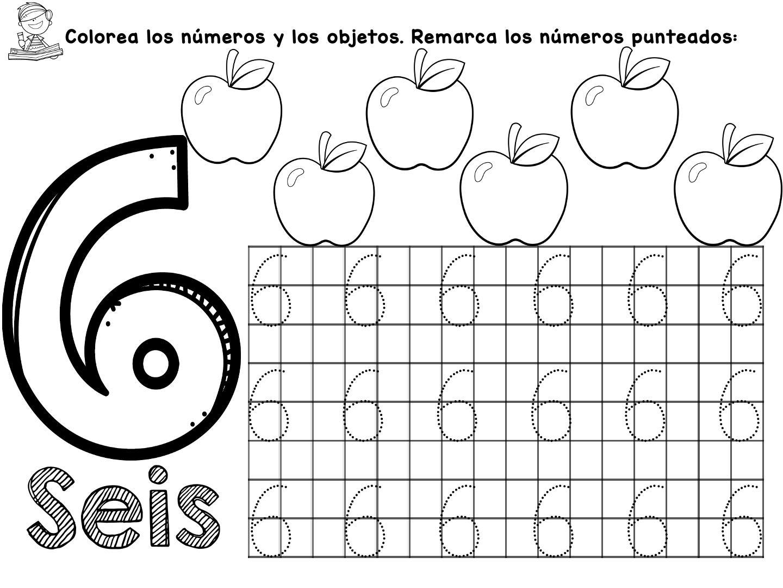 Cuaderno Aprendamos Los Numeros Del 1 Al 10 Materiales