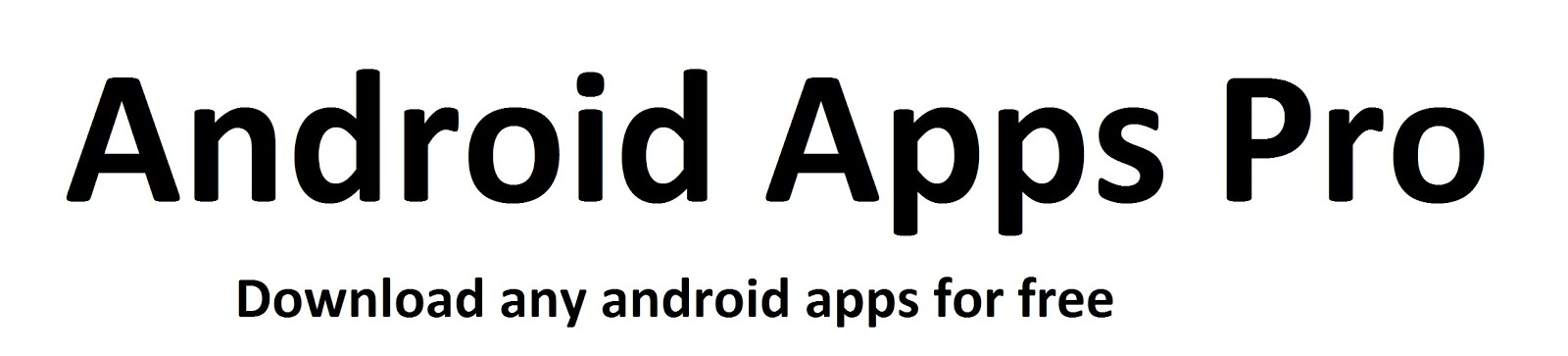 Android Apps Pro