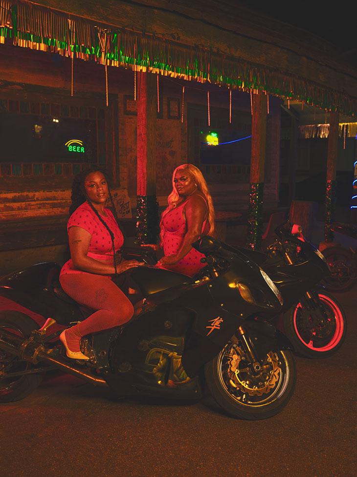 Rihanna Taps All-Black Female Biker Gang to Model Savage x Fenty