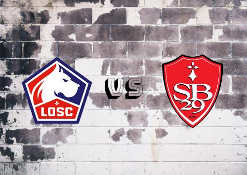Lille vs Brest  Resumen