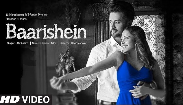 बारिशें Baarishein lyrics in Hindi - Atif Aslam