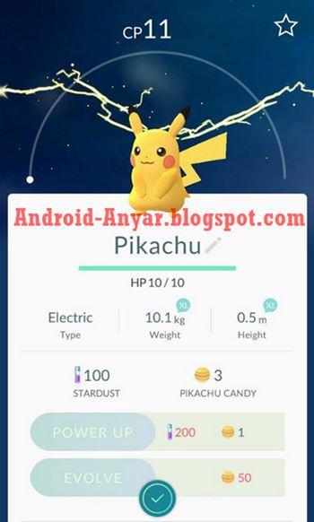Pikachu Gratis di Pokemon GO apk mod Android