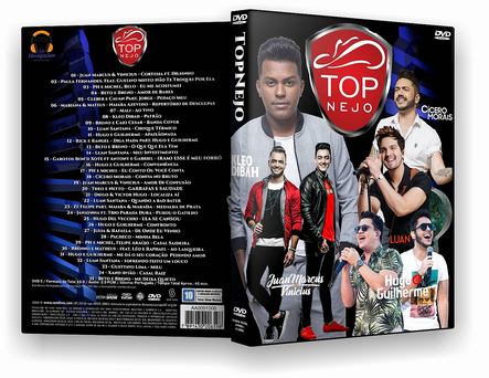 DVD  TOP SERTANEJO 2019 - ISO