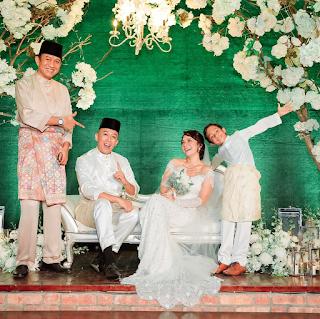 gambar kahwin nora danish