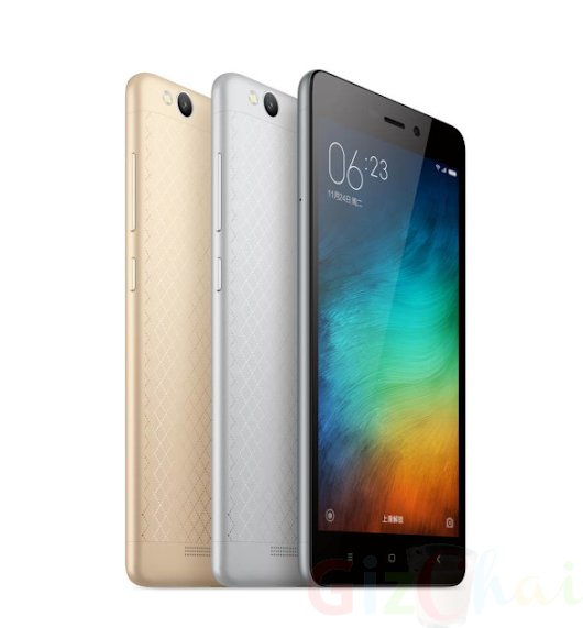 Redmi 3 announced with 13MP camera & massive 4100mAH battery at 7000INR