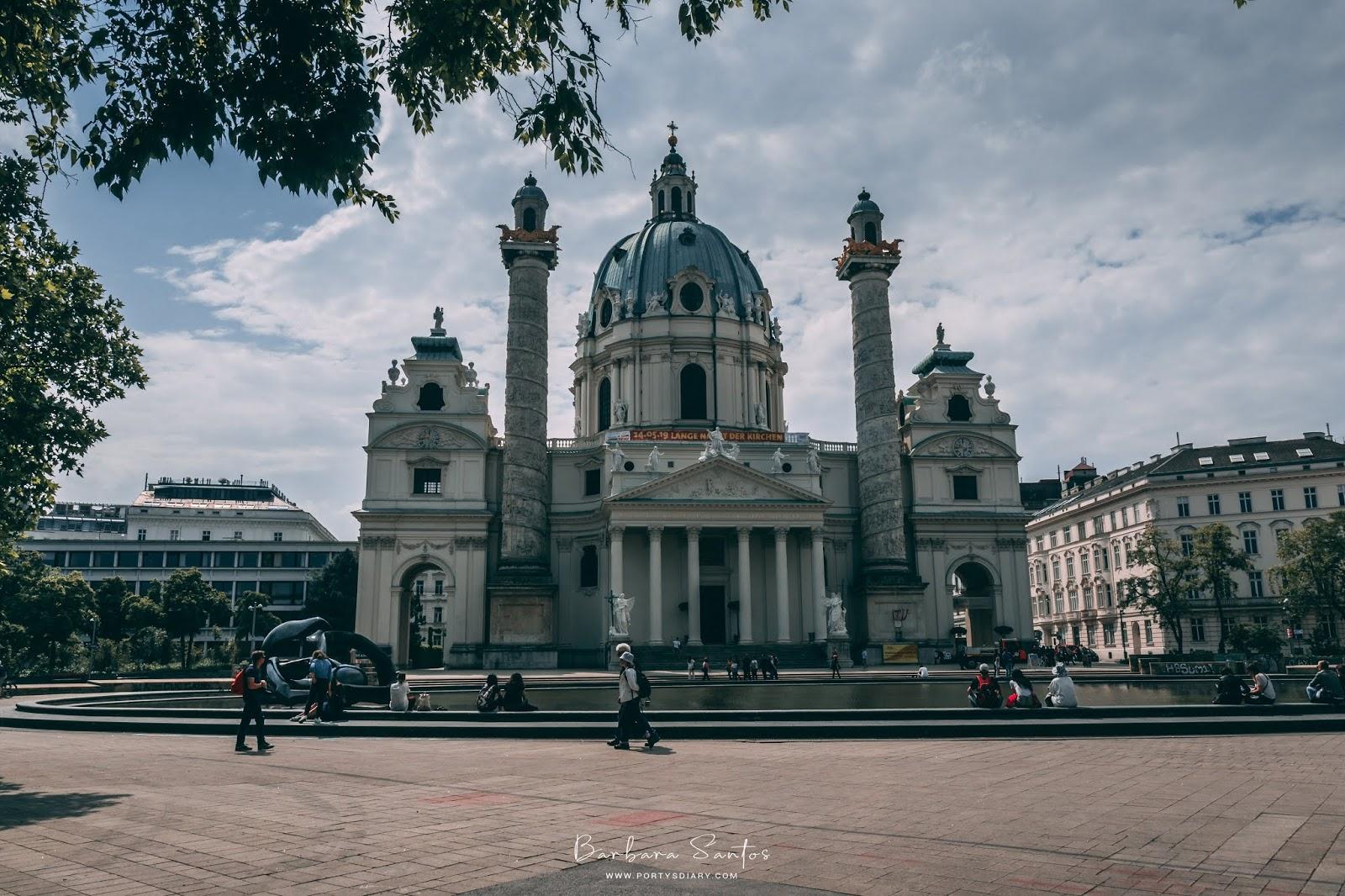 Karlskirche // St Charles Church - Vienna