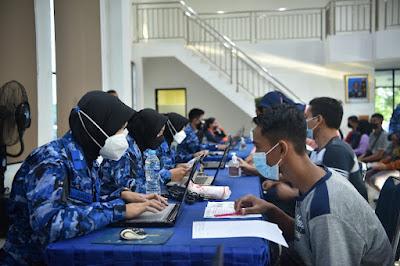 1000 Orang Ikuti Serbuan Vaksin Lanud Supadio Jelang Hari Bakti TNI AU