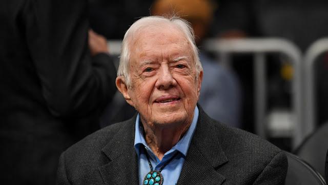 Hospitalizan al expresidente estadounidense Jimmy Carter por una infección del tracto urinario