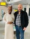Dr. Khalid Hamdan from Jordan visited Bunkau Traditional Clinics