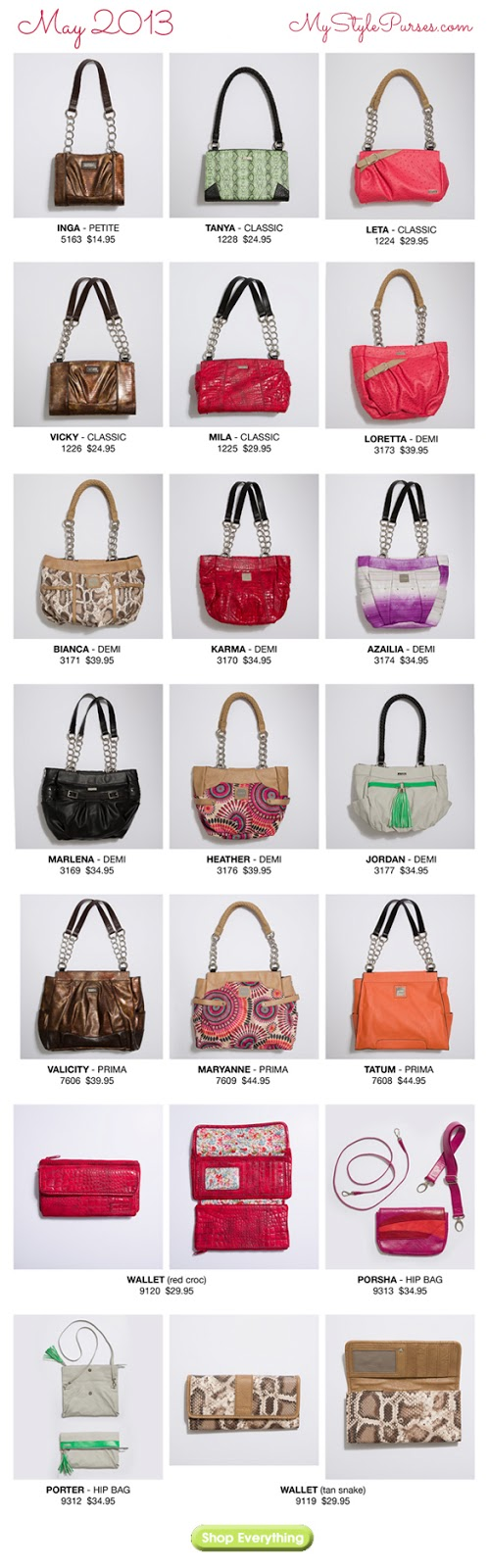 Shop the Miche May 2013 Product Release from MyStylePurses.com