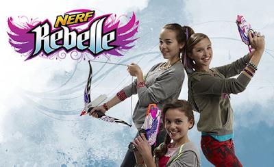 Súng Nerf Rebelle cho bạn gái