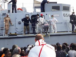 SPANISH: 87 MIGRANTS SALVAGE OFF COAST OF LIBYA