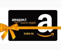 Gioca e vinci gratis un buono Amazon da 50 euro