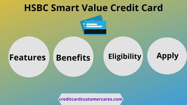 HSBC Smart Value Credit Card