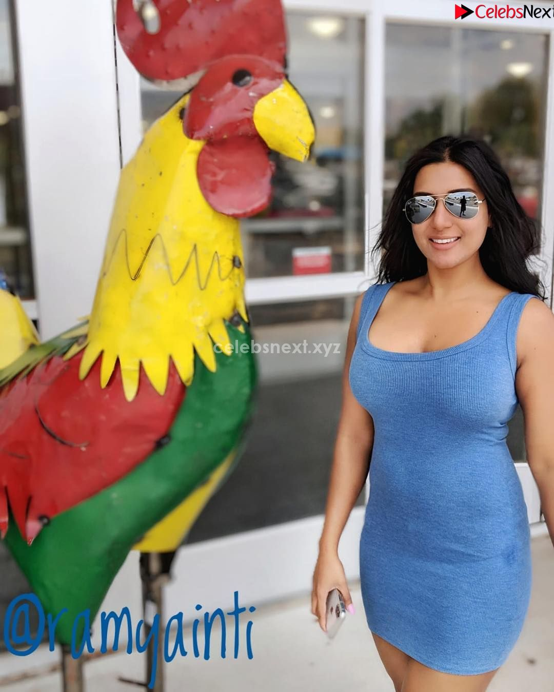 Ramya Inti Spicy Cute Plus Size Indian model stunning Fitness Beauty July 2018 ~ CelebsNext.xyz Exclusive Celebrity Pics