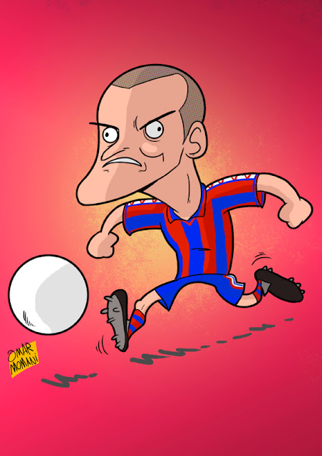 Luis Enrique cartoon
