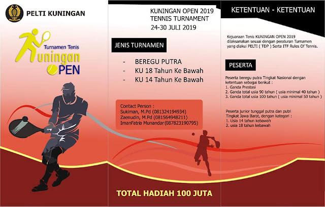 Kejuaraan Tenis Kuningan Open 2019