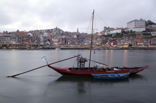 Barcos rabelos-Porto