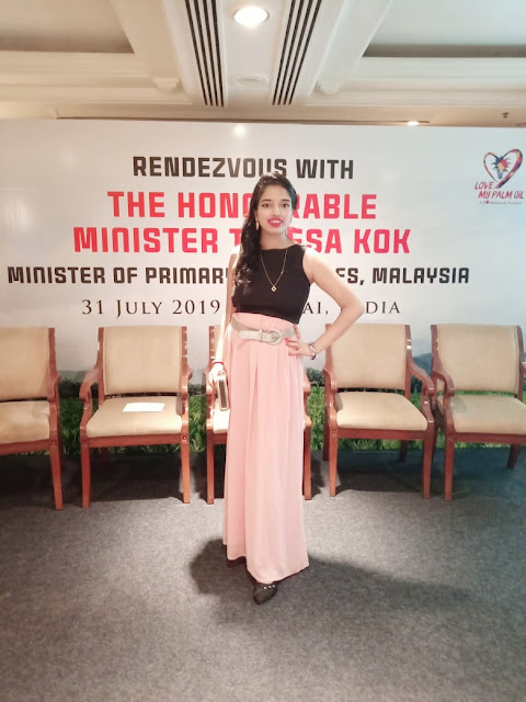 Nikita Gharat at tajlandsend for Red Palmoil event
