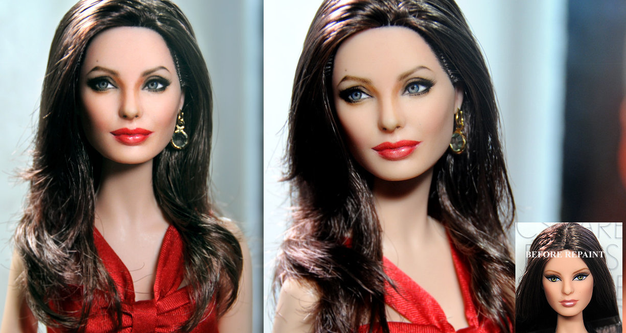19-Angelina-Jolie-Noel-Cruz-Hyper-Realistic-Make-up-on-small-Dolls-www-designstack-co