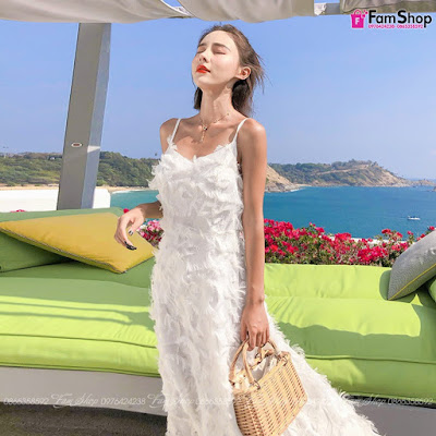 Shop bán váy maxi đi biển tại Gia Lâm