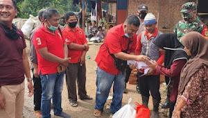 DPC PDI Perjuangan Garut Kembali Santuni Korban Kebakaran di Pasirwangi Garut