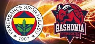 Fenerbahçe Doğuş - Baskonia Canli Maç İzle 20 Nisan 2018