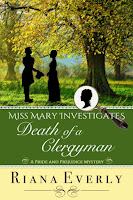 Book cover: Death of a Clergyman by Riana Everly