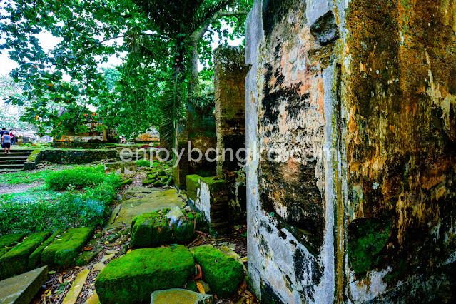 Spot Wisata Benteng Toboali di enjoy bangka