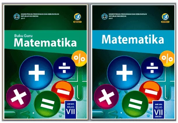 Buku Matematika Kelas 7 SMP MTs Kurikulum 2013 Revisi Terbaru