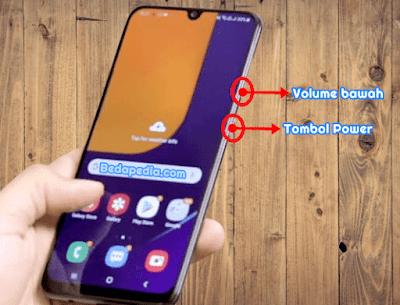 cara screenshot Samsung a50s dan semua tipe