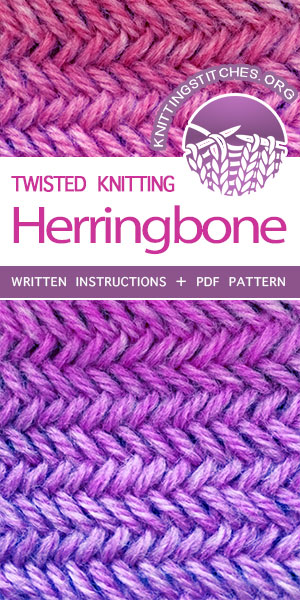 Featured Knitting Stitches. FREE KNITTING PATTERN for knitters of all levels, including written instructions and PDF patterrn.