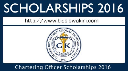 Chartering Officer Scholarships 2016