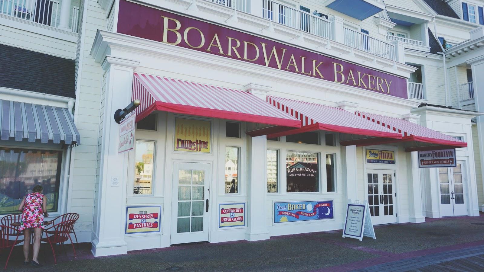 Boardwalk in Disney World, Florida